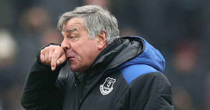 Everton ask supporters to rate manager Sam Allardyce in survey