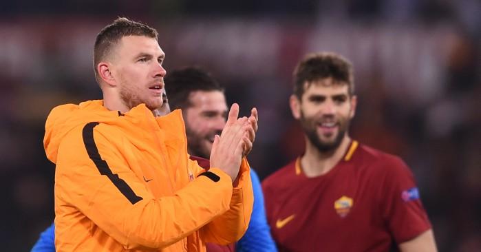 Roma striker Edin Dzeko: 'Chelsea transfer talk in the past'
