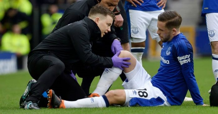 Sigurdsson sidelined for up to eight weeks