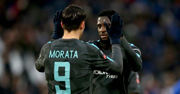Conte praises 'stronger' Morata, explains Bakayoko halftime subtitution