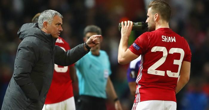 Jose-mourinho-luke-shaw