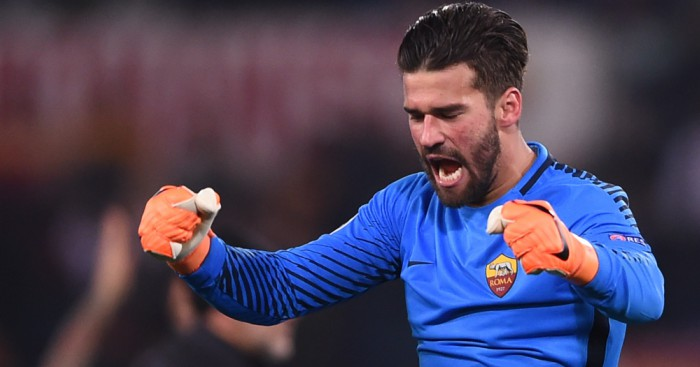 Roma goalkeeper Alisson 'very happy' about Liverpool, Real Madrid links