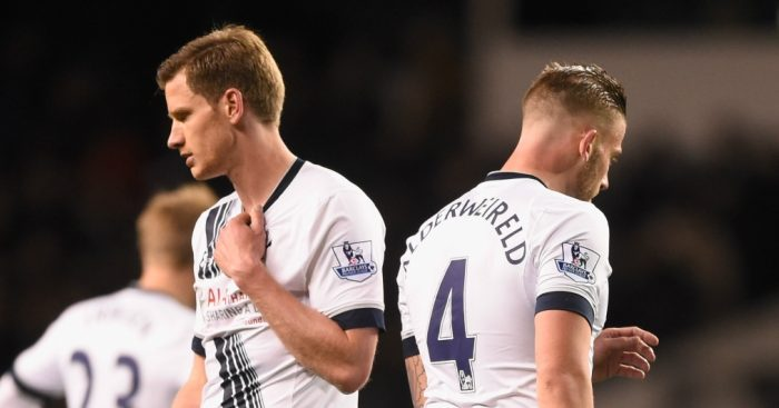 Tottenham's Jan Vertonghen calm about Toby Alderweireld's future at the club