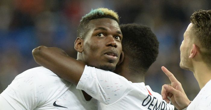 Paul Pogba scores glorious free-kick and sets up Mbappe during France win