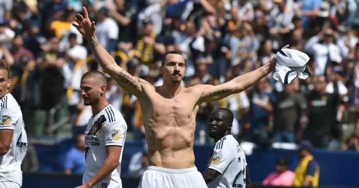 Ibrahimovic given hero's welcome on LA arrival
