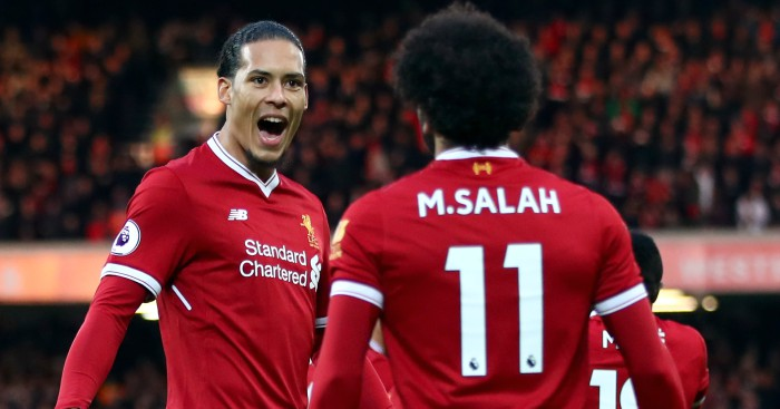 Mohamed Salah is THIS good says Reds defender Virgil van Dijk