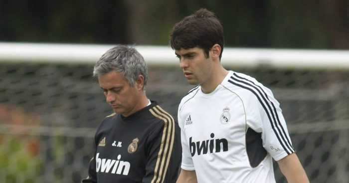 Kaka opens up on Jose Mourinho issues
