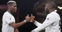 Paul Pogba Romelu Lukaku Manchester United