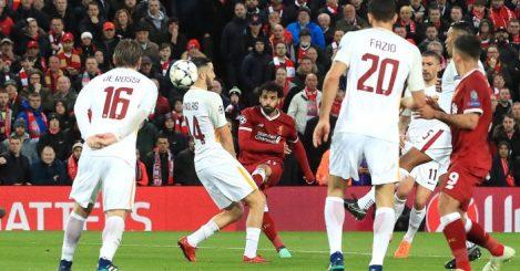 Mohamed Salah goal Roma