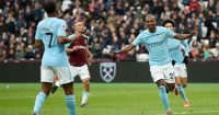 Fernandinho West Ham Manchester City