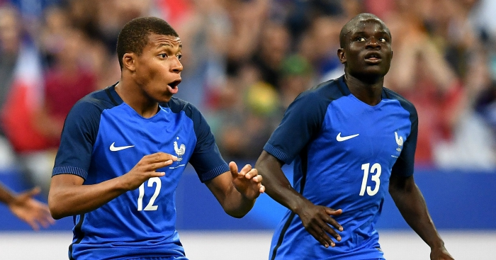 Mbappe urges PSG to sign Chelsea midfielder Kante