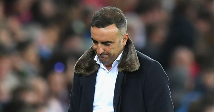 Swansea City could sack Carlos Carvalhal ahead of Sunday's relegation decider
