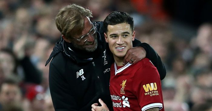 Klopp hypothesises about Coutinho still being at Liverpool