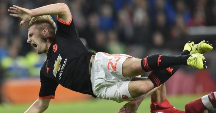 Luke Shaw Manchester United Football365