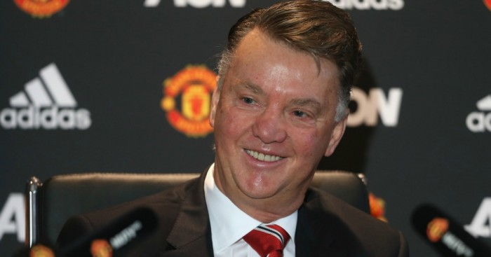 Louis van Gaal Manchester United Football365