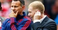 Paul Scholes Ryan Giggs Manchester United Football365