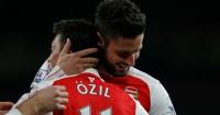 Mesut Ozil Olivier Giroud Arsenal