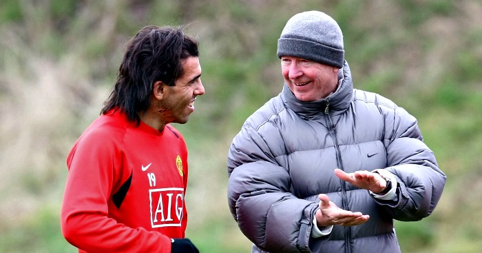 Tevez rubbishes Ferguson claims over United exit - Football365