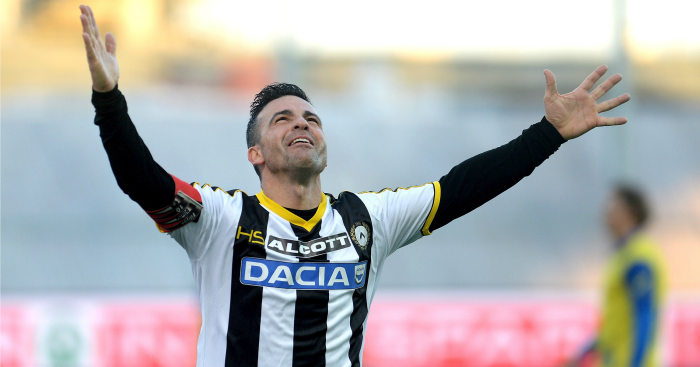 Portrait Of An Icon Antonio Di Natale Football365