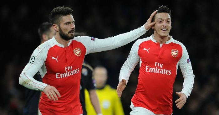 Giroud recalls Ozil's 'world champion' jokes at Arsenal - Football365