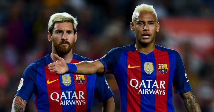 Messi 'urges Neymar to join him at Man City'