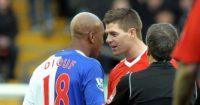 Steven Gerrard El Hadji Diouf Liverpool