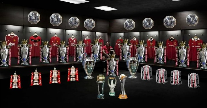 Image result for manchester united trophies