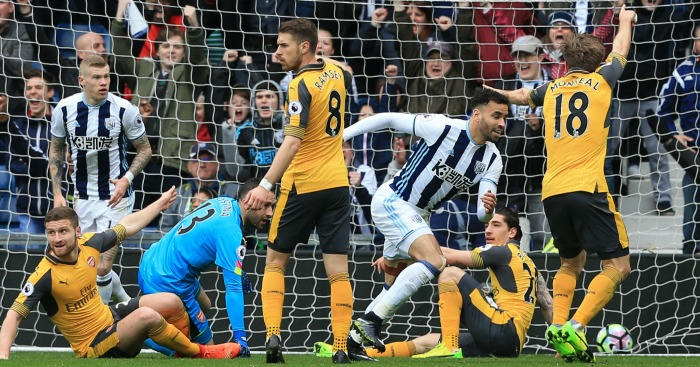 West Brom 3 1 Arsenal Same Old Story Football News