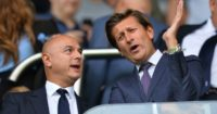 Daniel Levy Steve Parish Crystal Palace Spurs