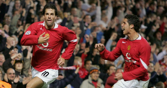 Image result for Ronaldo and Van Nistelrooy