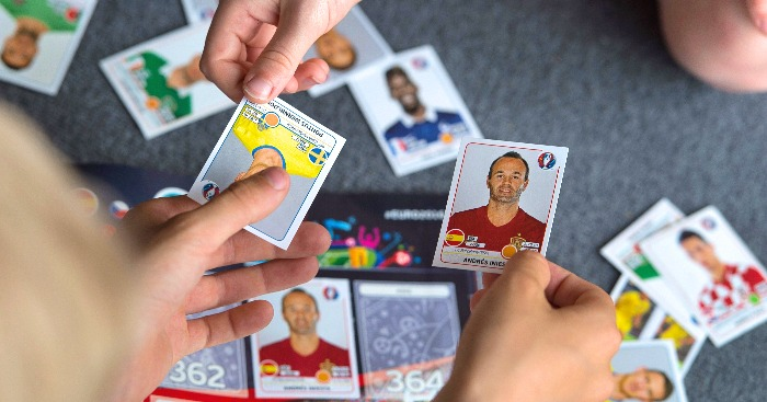 Image result for collecting football stickers school