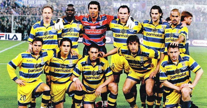 73a0475f6 Portrait of an iconic team  Parma 1998-1999 - Football365