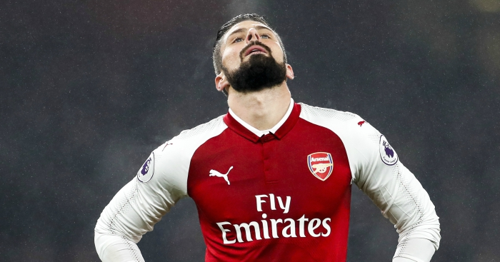 the best attitude cfca0 4bffe Olivier Giroud: Arsenal's Plan A for the B fixture - Football365