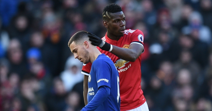 Eden Hazard Paul Pogba