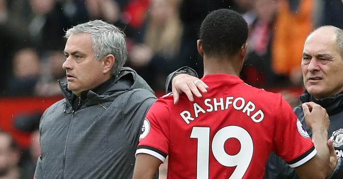 Tokeo la picha la Marcus Rashford and Mourinho