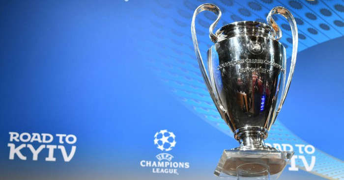 Liverpool And Man City Paired In Cl Quarter Final Football365