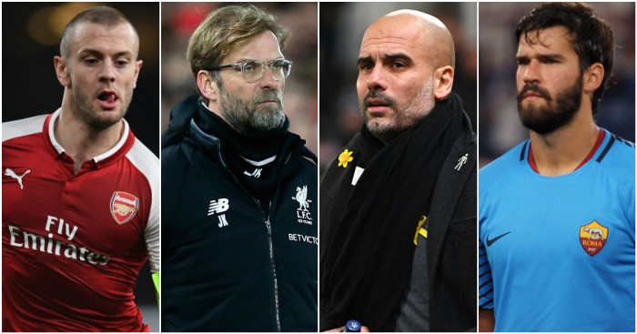 Big Midweek: Liverpool v City, Arsenal, Alisson, Milan derby