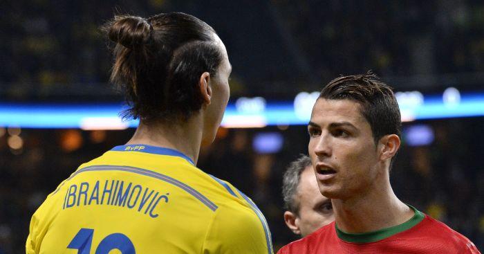 Ibrahimovic Plays Down Ronaldo S Amazing Bicycle Kick Football News