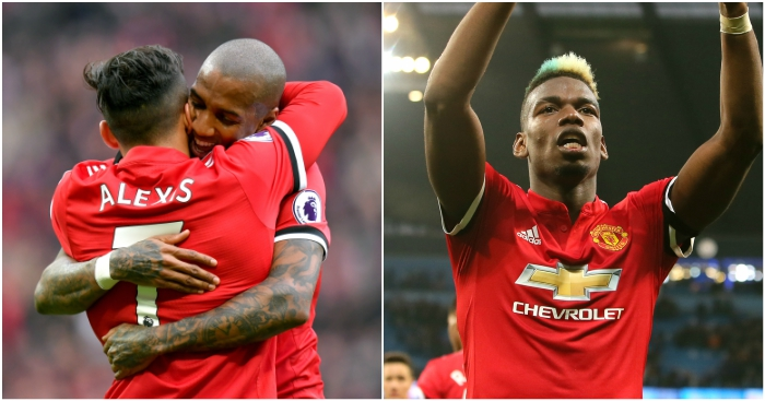 fd26eb3d812 Mails  Pogba and Sanchez just came of age at Man United - Football365
