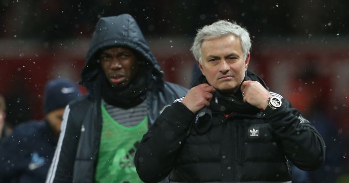 Mourinho v Pogba is exact same as Solskjaer and Van de Beek at Man Utd