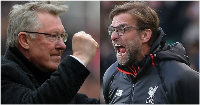 Alex-Ferguson-Jurgen-Klopp Liverpool