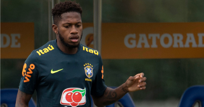factory authentic 64649 1646e Fred reveals his stance over Man Utd transfer - Football365