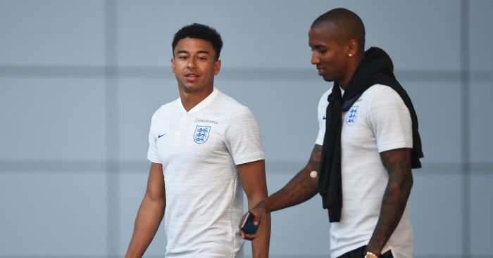 """ca27c0f47 Jesse Lingard has responded to comments he made saying that he felt """"more  comfortable"""" playing for England than Manchester United."""