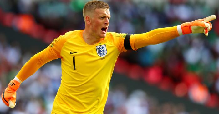 Jordan Pickford Named As England No.1