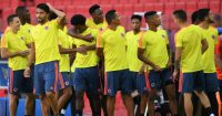 Colombia training Moscow