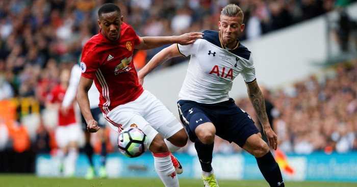 Anthony Martial Toby Alderweireld