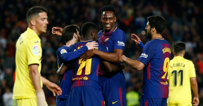 0108c35e57a Yerry Mina admits to losing free-kick bets with Lionel Messi and Luis  Suarez which funded shopping trips for the Barcelona duo.