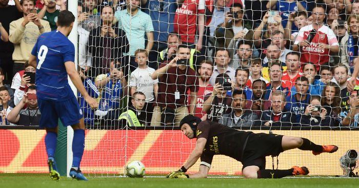 Alvaro Morata penalty Chelsea Arsenal