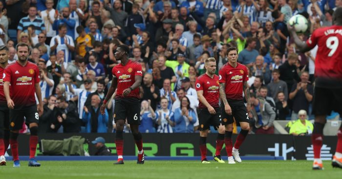 Image result for manchester united players in disarray