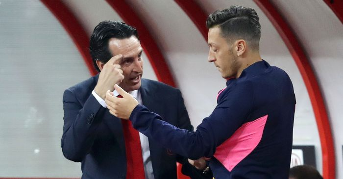 Image result for unai emery ozil